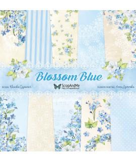 Zestaw papierów Blossom Blue