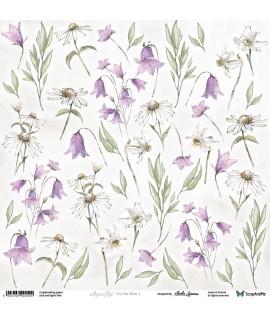 Aquarelles Flowers 1 -...