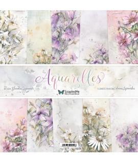 Zestaw papierów Aquarelles